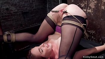Slave in pile driver is tormented thumbnail