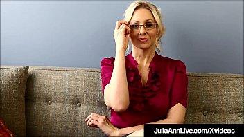Dirty Talkin Milf Teacher Ms. Julia Ann Teaches Masturbation