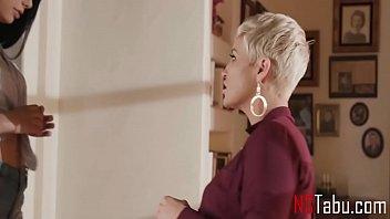 Big Tits Stepmom Scissors Her Petite Teen Daughter - Ryan Keely, Gina Valentina