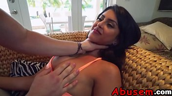 A horny dude abuses his girlfriend and fucks her very rough like never befored-2