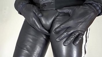 Leather shorts gay