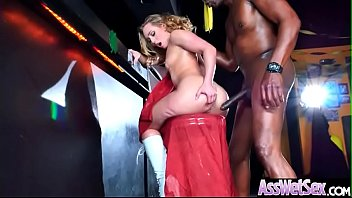 (AJ Applegate) Huge Round Oiled Ass Girl Hard And Deep Anal Nailed clip-03