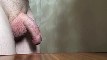 Cock masturbation without hands Giant cock rising process