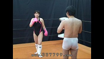 Naked men fight - Mldo-056 human sandbag for woman martial artist. mistress land