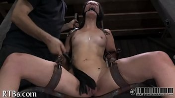 Intense punishment for hotty