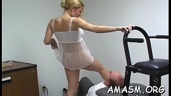 Non-professional smothering scenes with breasty milf and hubby
