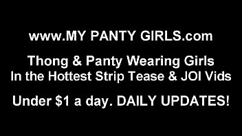 I am wearing a very special pair of panties tonight JOI