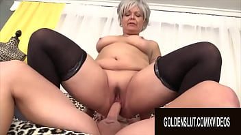 Golden Slut - Experienced Matures Riding In Reverse Cowgirl Compilation