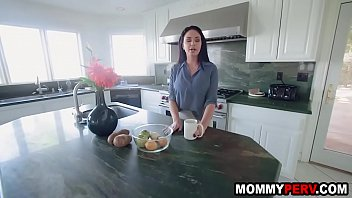 Big tits stepmom shows son how real women fuck