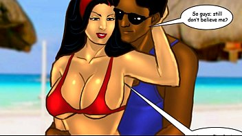 Sexy office cartoons - Savita bhabhi episode 33 - sexy summer beach