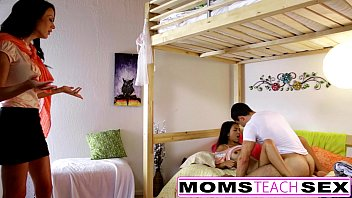 Porn mom fcks daughter - Momsteachsex - mom and daughter play with dad gone