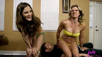 Cory Chase and Molly Jane in Dominated: Two girls farting