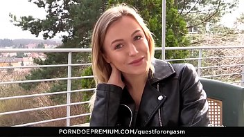 Quest For Orgas m   Sensual Masturbation Leads turbation Leads To Intense Orgasms With Ukrainian Blonde Aislin