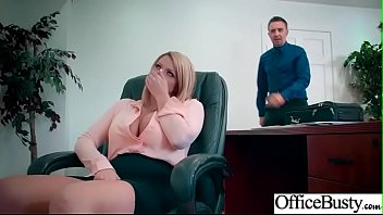 Hard Sex Tape In Office With Big Round Tits Sexy Girl (Brooklyn Chase) video-07