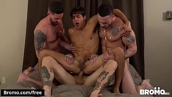 Bukkake Bitch Scene 1 Featuring Blaze Burton And Carlos Lindo And Dane Stweart And Dante Stewart And Titus BROMO