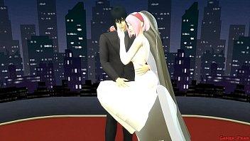 Japanese porn photos La boda de sakura parte 1 anime hentai netorare recién casados le toman fotos con los ojos tapado esposa abusada marido tonto