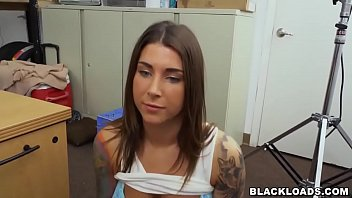 Rocker Chick Destroyed By a Big Black Dick