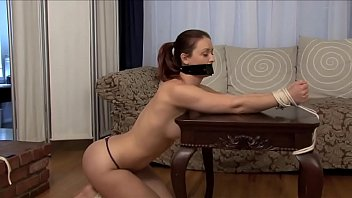 Karlie Montana Tied Up, Gagged, Naked. Plus Outtakes