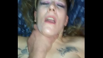 My hot wife Shannon squirting  ,fucked and choked.