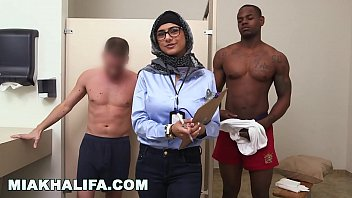 Men cum curious Mia khalifa - my ultimate interracial big dick challenge