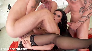 DAP inception #2, Nikki Sweet, DP & DAP, pussy only for DP, sperm games and 3 swallows GIO062