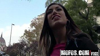 Mofos - Public Pick Ups - Spanish Beauty Gives Messy Head Starring Julia Roca