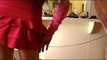 Mom's Pantyhosed Lapdance Audition