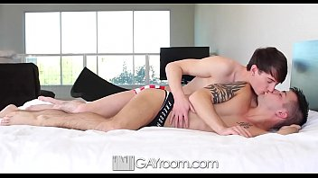 GayRoom After bath fuck with Damian Black and Casey Everett