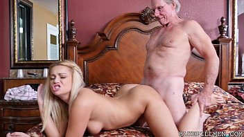 Sexy 18 Year Old Fucks 78 Year Old Grandpa thumbnail