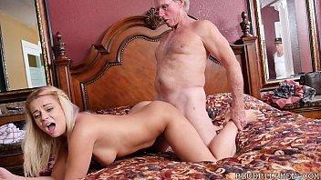 Sexy 18 Year Old Fucks 78 Year Old Grandpa 5 min