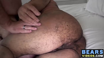 Big dick James Hardcore and Jef Heart getting nasty in bed