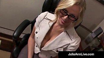 Celebrity blow job anne hath Award winning milf julia ann gets cum in her eye on the job