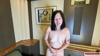 41 years old Japanese wife cheating on her husband and boys doing masturbation with dildo and sex toy. Asian bitch loves sex with black hairy pussy and tatoo. OSAKAPORN