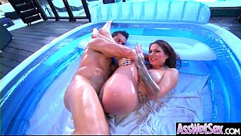 Karmen gets fisted hard by her girl