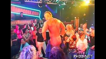 Hardcore male strippers girls suck Blonde girl sucking jock with cream