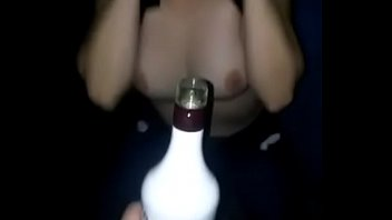 Young Drunk Girl Flashing Titties