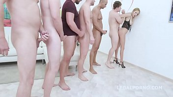 Jade russell porno 7on1 double anal gangbang with florane russell, balls deep anal, dap, gapes, swallow gio1060