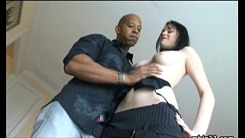 Skinny Teen takes a monster black cock!