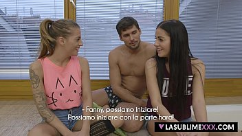 LaSublimeXXX Lucky guy fucks teen Dellai twins
