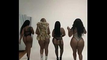 Just a little big butts tease