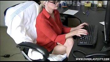 Computer Handjob And Cumshot