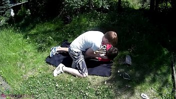Teen lad caught in the woods, got tied up, abused and forced to cum