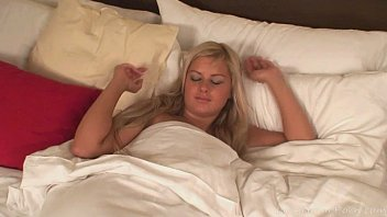 Astounding blonde plays with her sex toy
