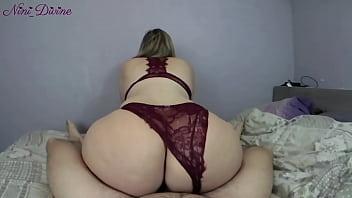 He fucks the big ass of his neighbor slut in hot sexy lingerie! porno izle