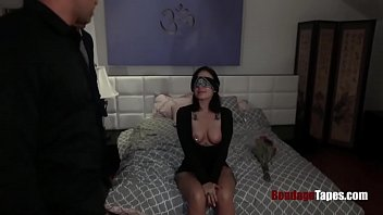 This girl is Gangbanged by BOSSES