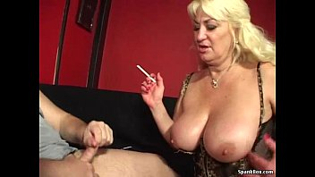 Pissing smoking grannies Big titted mature loves smoking and sucking