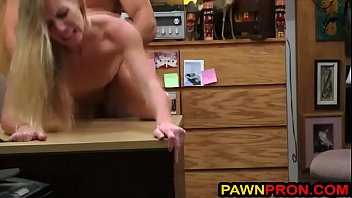 Pawnbroker caught with his Dick in His Secretary's Sweet Pussy