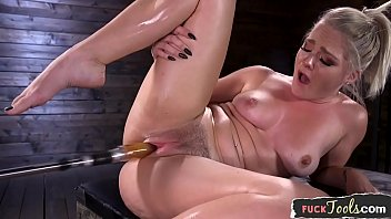 Best machine orgasm anime - Curvy machine beauty enjoys riding sybian