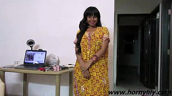 Sexy graduation gown Indian babe lily sexy interview