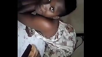 African girl dance